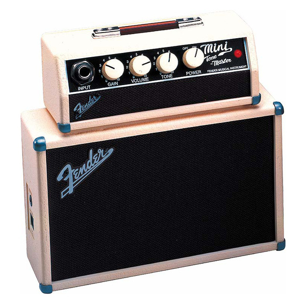 лучшая цена Гитарный мини-усилитель Fender Гитарный мини-комбоусилитель MINI TONEMASTER AMPLIFIER
