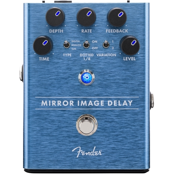 Педаль эффектов Fender Mirror Image Delay Pedal