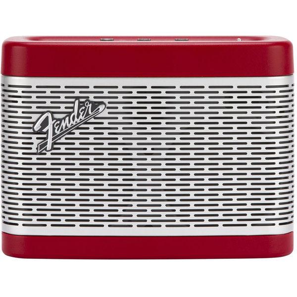 Портативная колонка Fender Newport Bluetooth Speaker Red замечательный звук wonderful voice psq mini bluetooth динамики три анти наружных динамика портативная карта аудио прохладно прохладно желтый