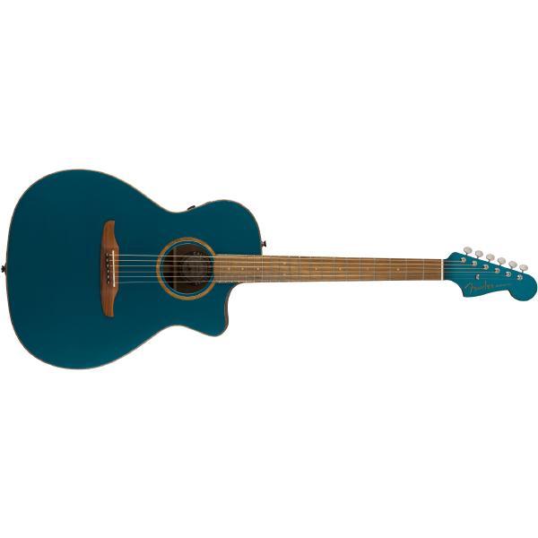Гитара электроакустическая Fender Newporter Classic Cosmic Turquoise
