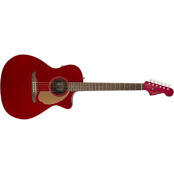 Гитара электроакустическая Fender Newporter Player Candy Apple Red
