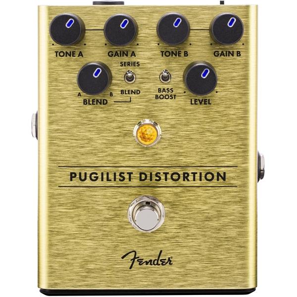 Педаль эффектов Fender Pugilist Distortion Pedal педаль эффектов fender the bends compressor pedal