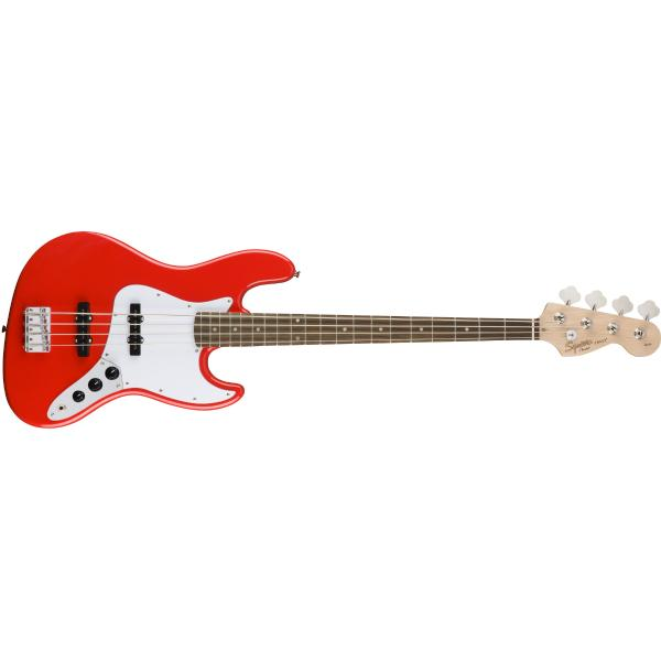 Бас-гитара Fender Squier Affinity Jazz Bass LRL Race Red fender squier vintage modified jazz bass® 70s maple fingerboard candy apple red