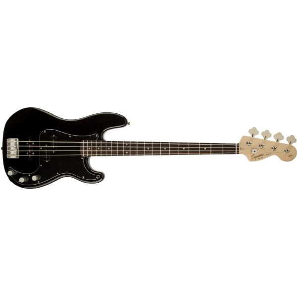 Бас-гитара Fender Squier Affinity PJ Bass BWB PG Black стоимость