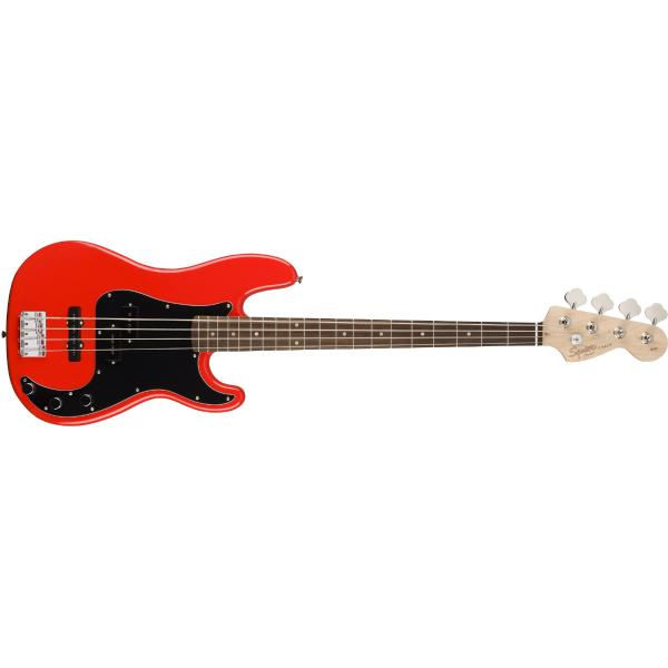 Бас-гитара Fender Squier Affinity PJ Bass BWB PG Race Red fender squier vintage modified jazz bass® 70s maple fingerboard candy apple red