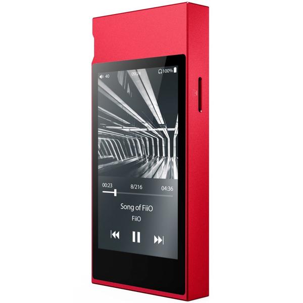 Портативный Hi-Fi плеер FiiO M7 Red bundle sale fiio m7 bluetooth 4 2 aptx hd ldac hi res touch screen lcd music mp3 play metal case with fm radio with fiio f9se