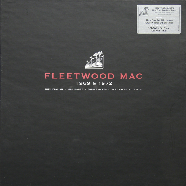 Fleetwood Mac Fleetwood Mac - Fleetwood Mac 1969-1972 (box Set) цена