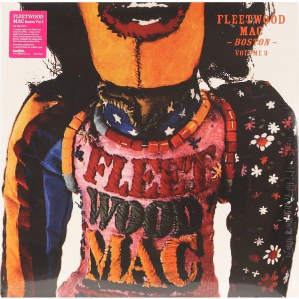 Fleetwood Mac Fleetwood Mac - Boston Vol.3 (2 Lp, 180 Gr) fleetwood mac fleetwood mac mirage 180 gr