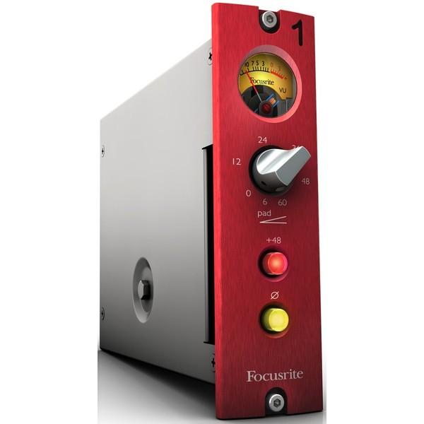 Микрофонный предусилитель Focusrite Red 1 500 Series lundahl ll1518