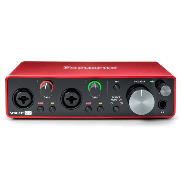 Внешняя студийная звуковая карта Focusrite Scarlett 2i2 3rd Gen стоимость