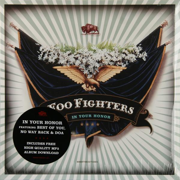 Foo Fighters Foo Fighters - In Your Honor (2 LP) foo fighters foo fighters one by one 2 lp