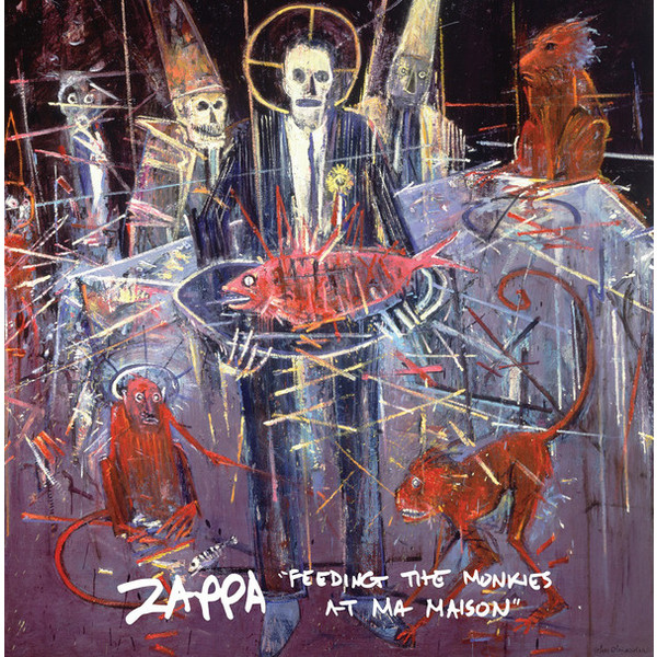 Frank Zappa Frank Zappa - Feeding The Monkies At Ma Maison цена и фото