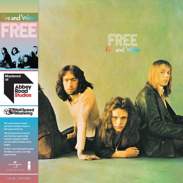 FREE - Fire And Water (half Speed Vinyl)
