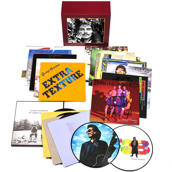 лучшая цена George Harrison George Harrison - Vinyl Collection (18 LP)