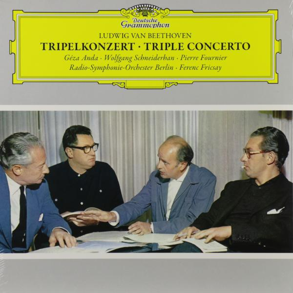Beethoven BeethovenGeza Anda   wolfgang Schneiderhan  Pierre Fournier - : Triple Concerto