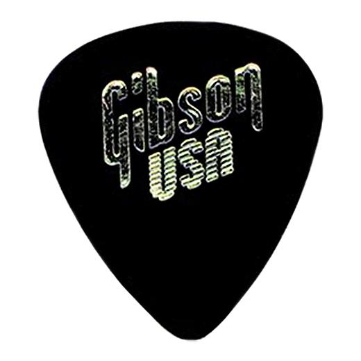 Медиатор Gibson APRGG-74H 1/2 Gross Black Standart Style/Heavy