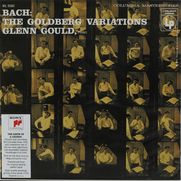 BACH BACHGlenn Gould - : Goldberg Variations, Bwv 988 (1955 Recording) (180 Gr) c reinecke variations on a theme by j s bach op 52