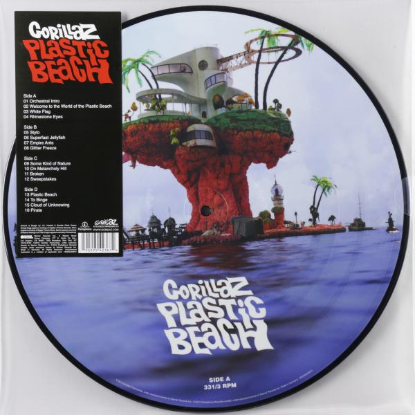 Gorillaz - Plastic Beach (2 Lp, Picture)