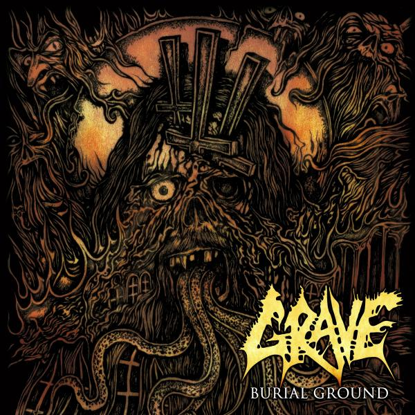 GRAVE - Burial Ground (180 Gr)