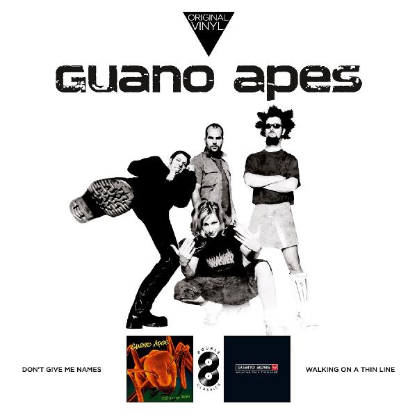 лучшая цена Guano Apes Guano Apes - Original Vinyl Classics: Don't Give Me Names + Walking On A Thin Line (2 LP)