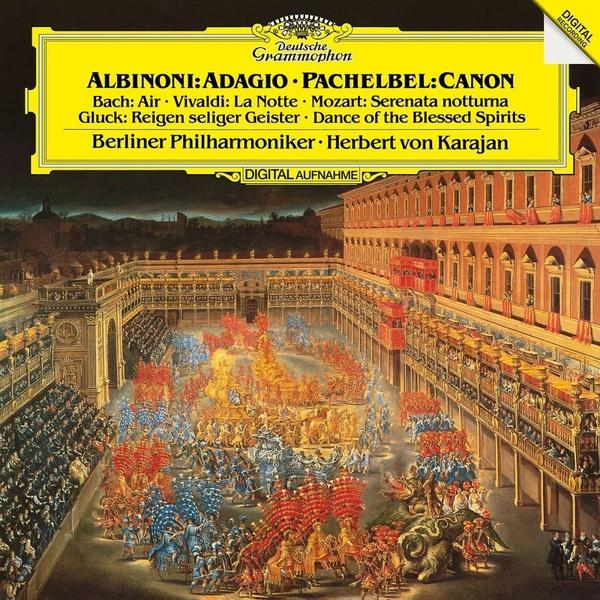 Herbert Von Karajan - Albinoni/ Vivaldi/ Bach/ Mozart