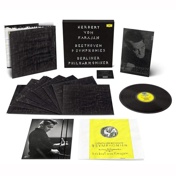 лучшая цена Beethoven BeethovenHerbert Von Karajan - : 9 Symphonies (8 LP)