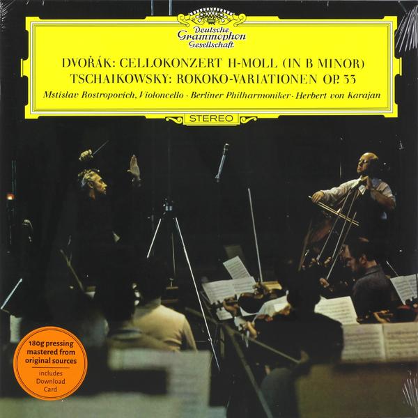 Herbert Von Karajan - Dvorak Tchaikovsky: Cello Concerto Rococo Variations