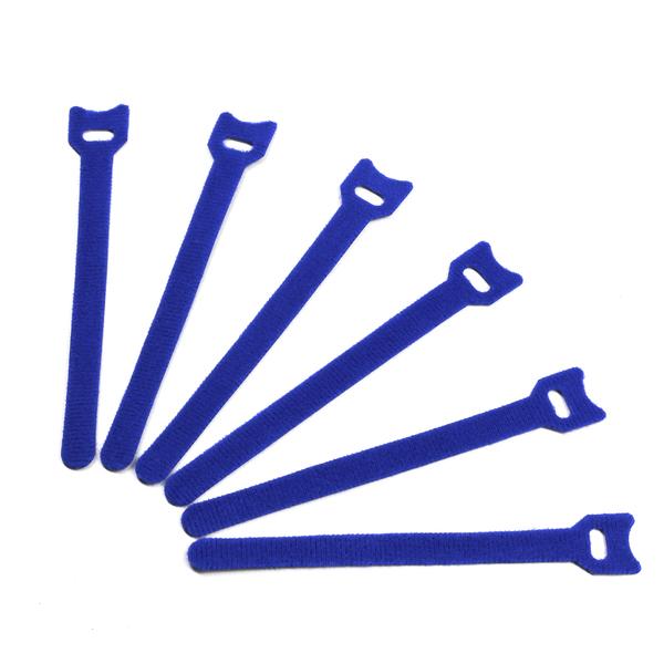 Стяжка-липучка (6 шт.) Blue