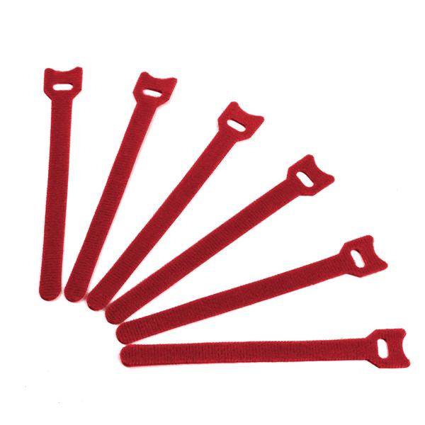 Стяжка-липучка (6 шт.) Red