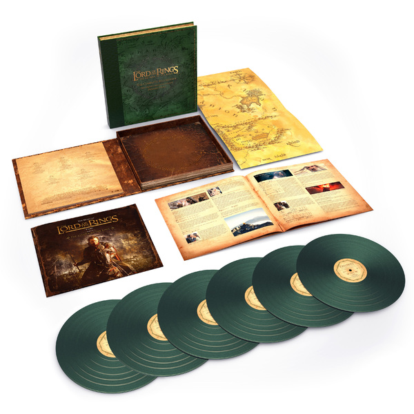 Саундтрек СаундтрекHoward Shore - The Lord Of Rings: Return King Complete Recordings (6 Lp, 180 Gr)