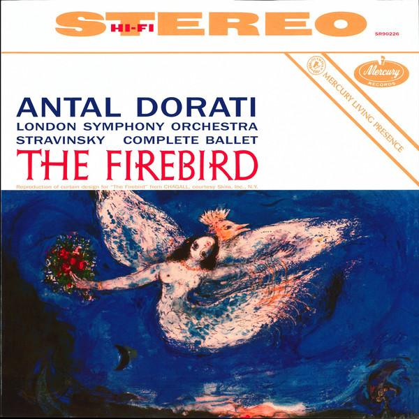 Stravinsky StravinskyAntal Dorati The London Symphony Orchestra - Igor : The Firebird цена и фото