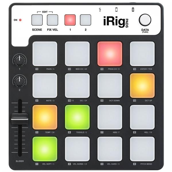 MIDI-контроллер IK Multimedia iRig Pads Midi