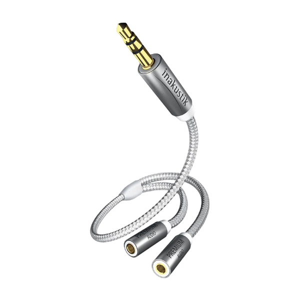 Кабель miniJack-miniJack Inakustik Premium Y-adapter