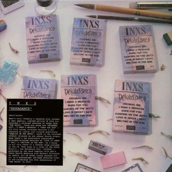 INXS INXS - Dekadance (colour) inxs inxs underneath the colours
