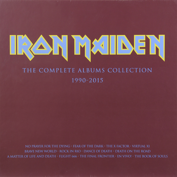 Iron Maiden Iron Maiden - 2017 Collectors Box (3 LP) цена