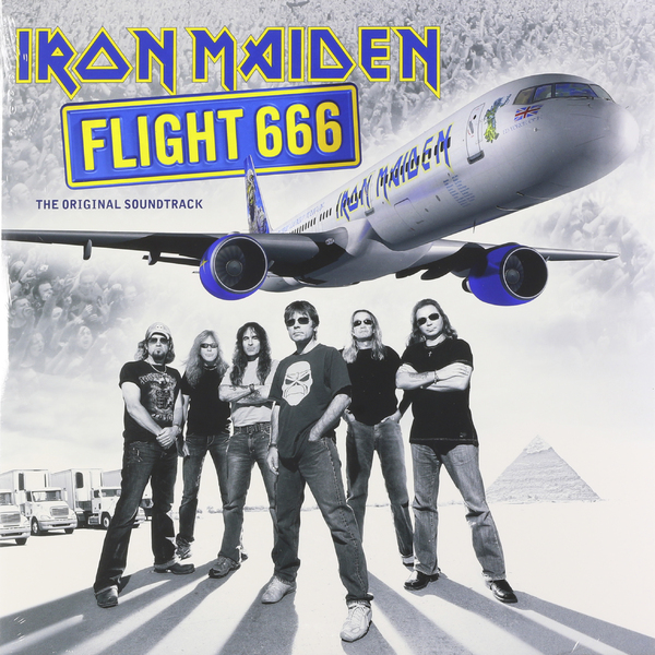цена Iron Maiden Iron Maiden - Flight 666 (2 LP) онлайн в 2017 году
