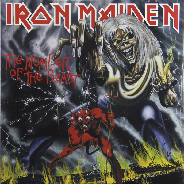 Iron Maiden Iron Maiden - Number Of The Beast цена