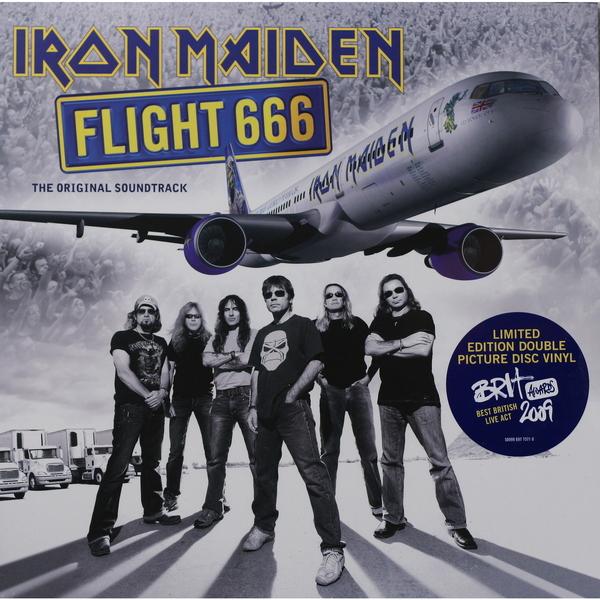 Iron Maiden Iron Maiden - Flight 666 The Film (2 LP) цена