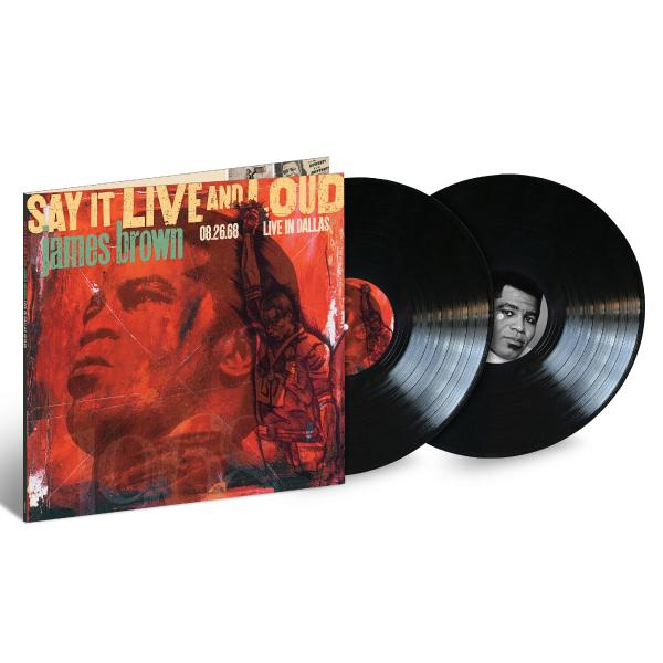 James Brown James Brown - Say It Live And Loud: Live (2 LP) james brown james brown night train king singles 60 62 2 lp
