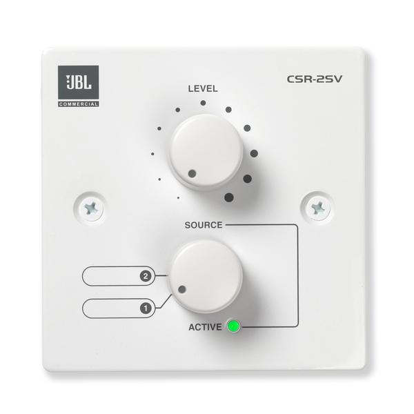 лучшая цена Панель управления JBL CSR-2SV-WHT