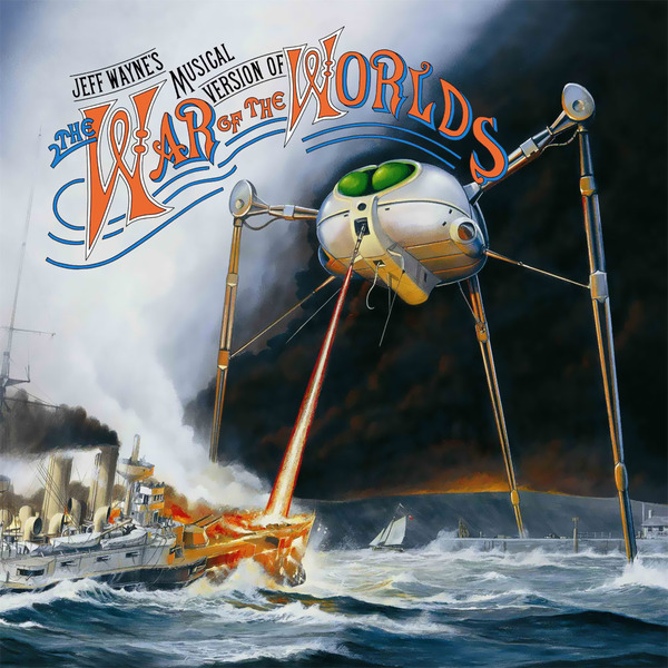 Jeff Wayne - Waynes Musical Version Of The War Worlds (2 Lp, 180 Gr)