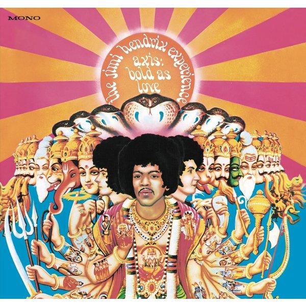 Jimi Hendrix Jimi Hendrix - Axis: Bold As Love (180 Gr, Mono) jimi hendrix jimi hendrix miami pop festival 2 lp 180 gr