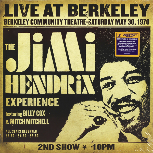 Jimi Hendrix Jimi Hendrix - Live At Berkeley (2 LP) цена