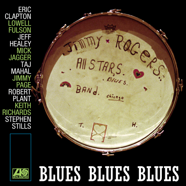 Jimmy Rogers Jimmy Rogers All Stars - Blues Blues Blues (2 LP) jimmy page burn up lp