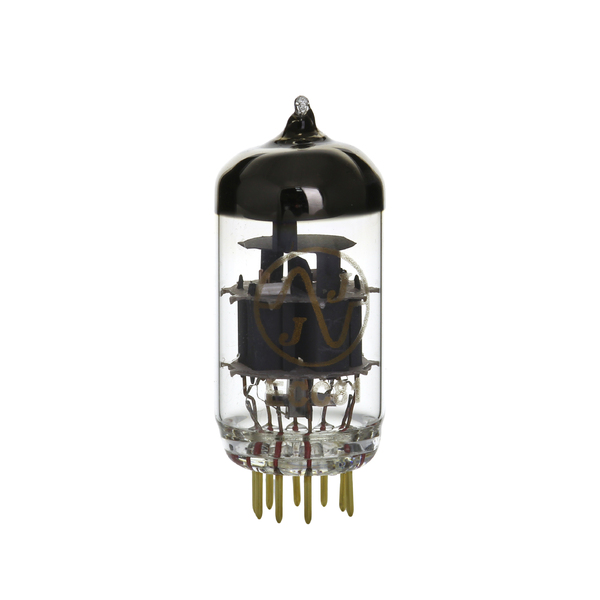 Радиолампа JJ Electronic 12AT7 (ECC81) Gold Plated Pins mod clarostat potentiometer 10k gold plated pin