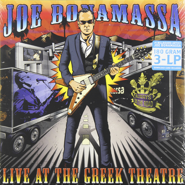 лучшая цена Joe Bonamassa Joe Bonamassa - Live At The Greek Theatre (3 LP)
