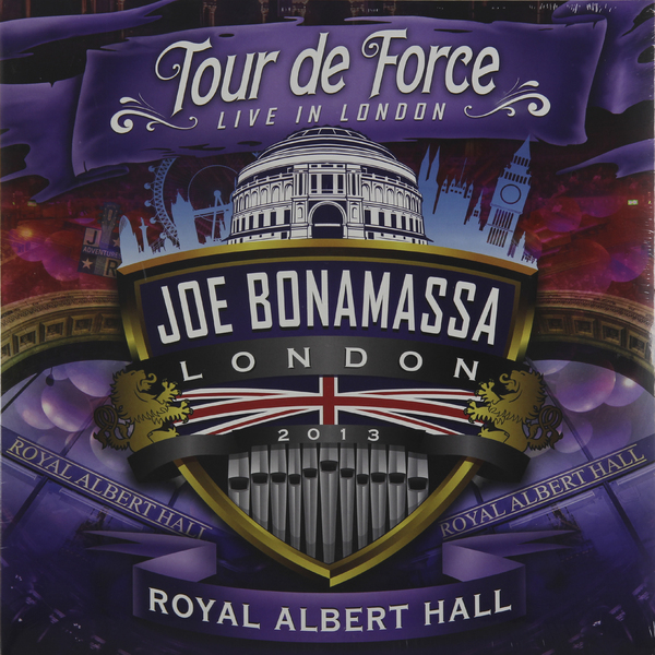 Joe Bonamassa - Tour De Force Live In London Royal Albert Hall (3 Lp, 180 Gr)