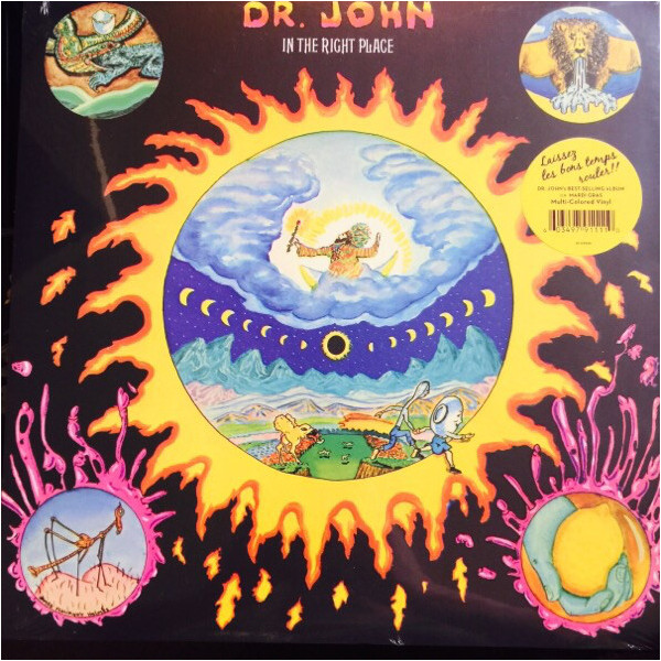 Dr. John Dr. John - In The Right Place (180 Gr) john burley the hiding place