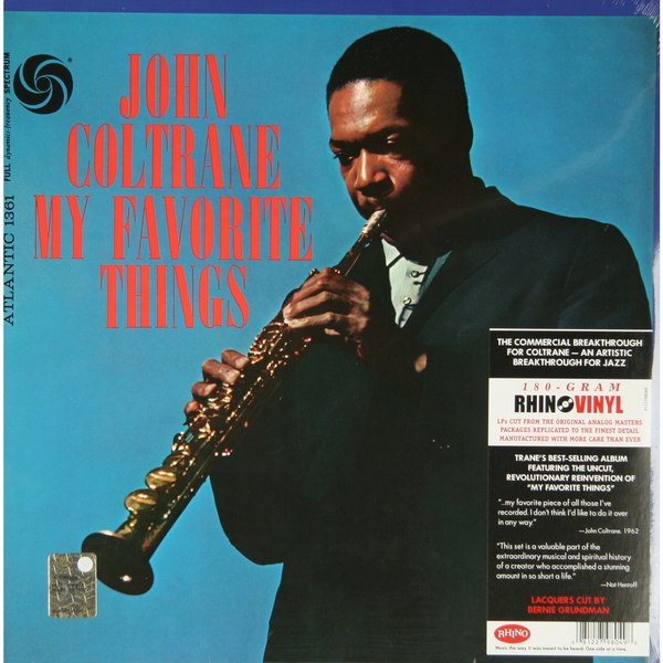John Coltrane John Coltrane - My Favourite Things (180 Gr)