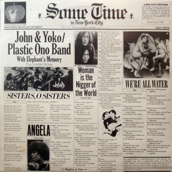 купить John Lennon John Lennon - Some Time In New York City (2 LP) по цене 2610 рублей
